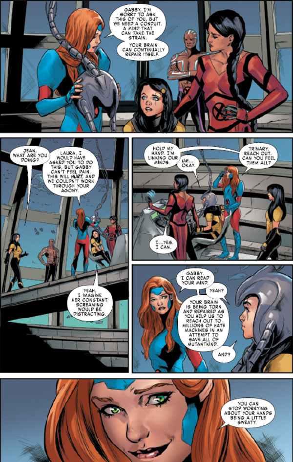 X-Men Red #8 Page 1