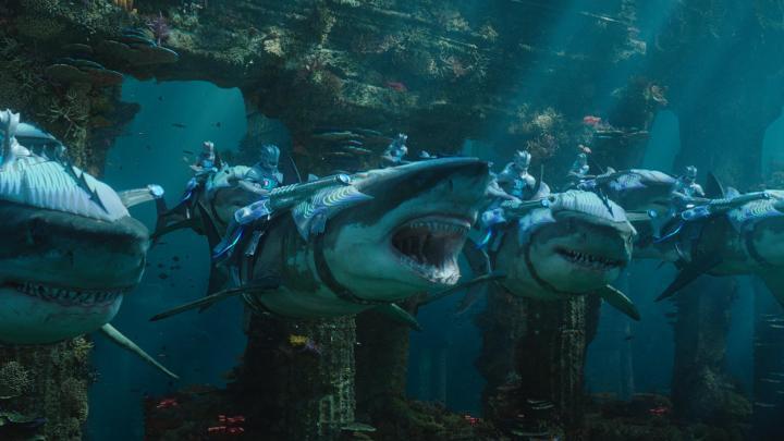 aquaman review shark soldiers