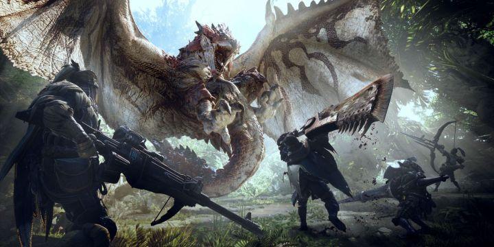 monster hunter world 2018 video game