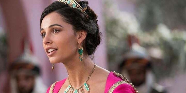 Naomi Scott as Princess Jasmine in Aladdin