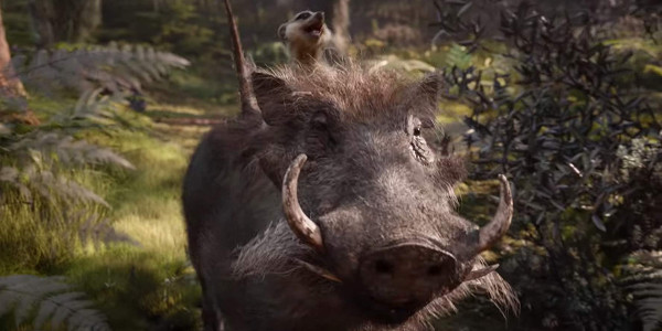 The Lion King 2019 Timon and Pumbaa