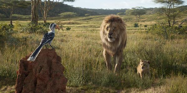 The Lion King 2019 Zazu Mufasa and Simba