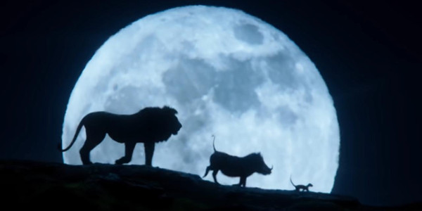 The Lion King Moon Shot
