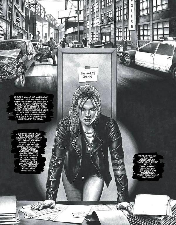 Joker Harley Criminal Sanity Page 1