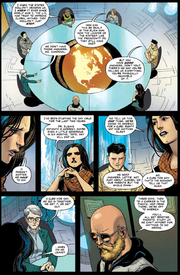 Undiscovered Country #1 Page 1