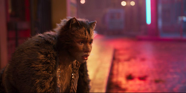 Jennifer Hudson as Grizabella in Cats the Movie
