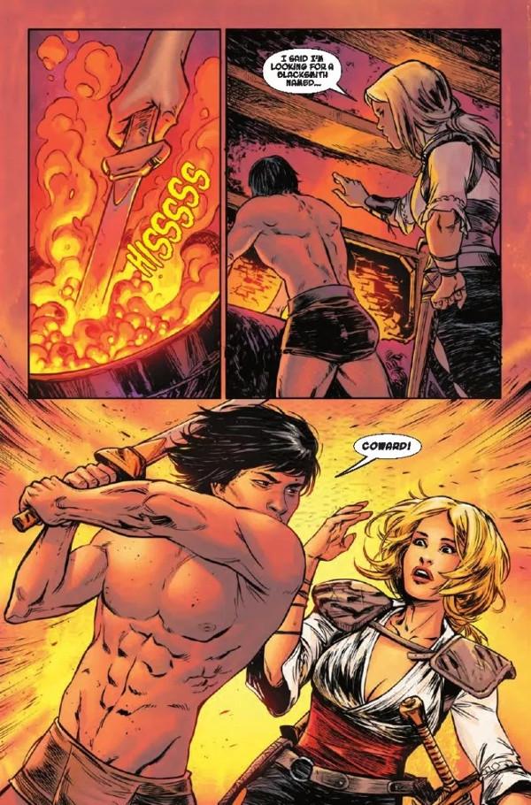 Age of Conan Valeria #1 Page 1