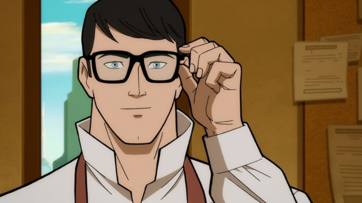 Clark Kent in Superman Man of Tomorrow