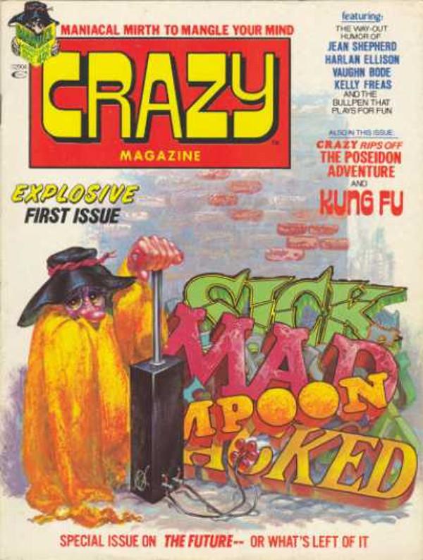Crazy 1976 #1 Cover
