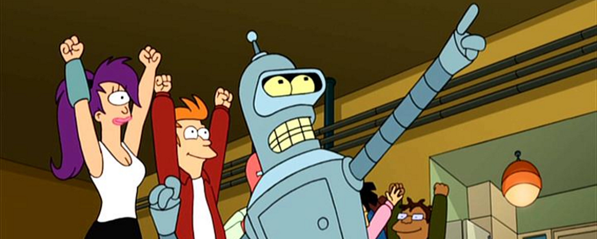 Futurama We're Back Baby Header