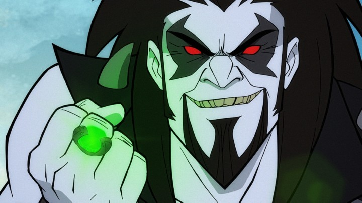 Lobo in Superman Man of Tomorrow