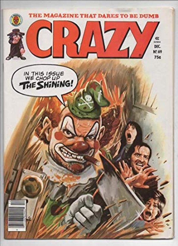 Obnoxio The Clown on Crazy Cover