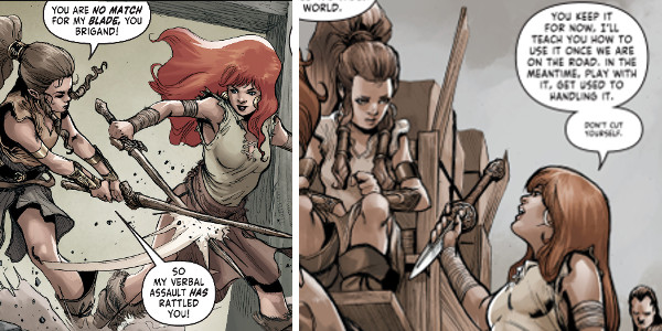 Red Sonja Birth Of A She-Devil Discontinuity