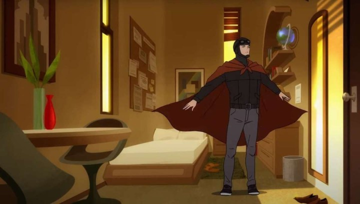 Superman Man of Tomorrow Clark Tests Cape