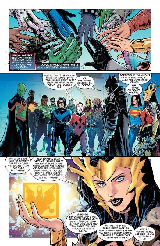 Dark Nights: Death Metal Trinity Crisis #1 Page 3
