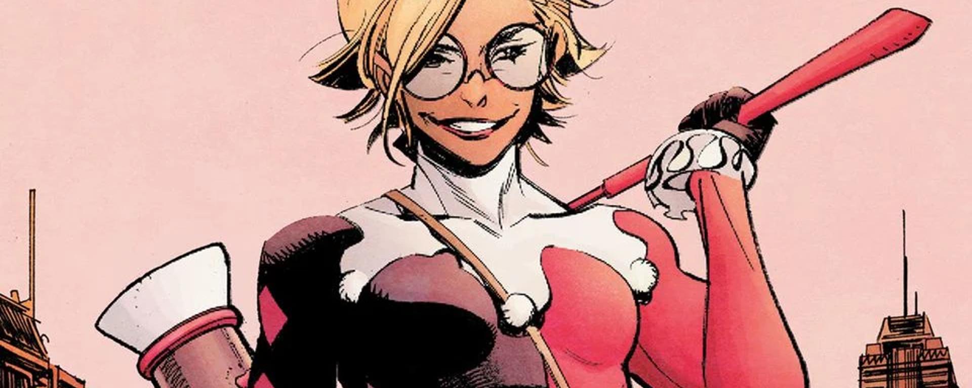 Batman White Knight Presents Harley Quinn #1 Header