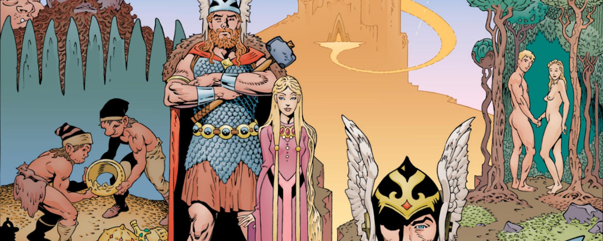 Norse Mythology #1 Header