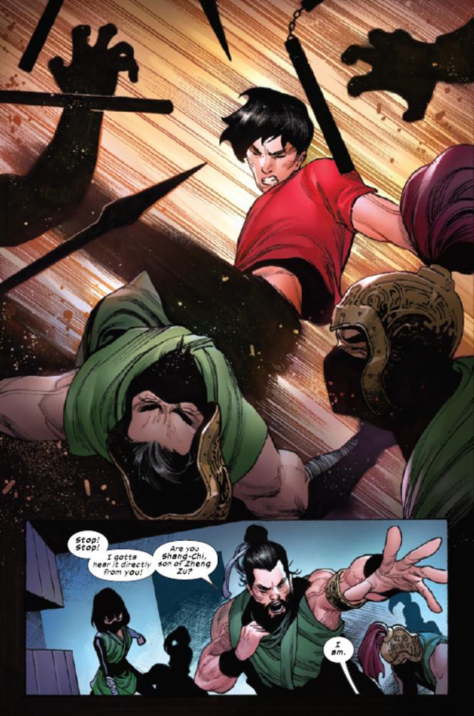 Shang-Chi #1 Page 2