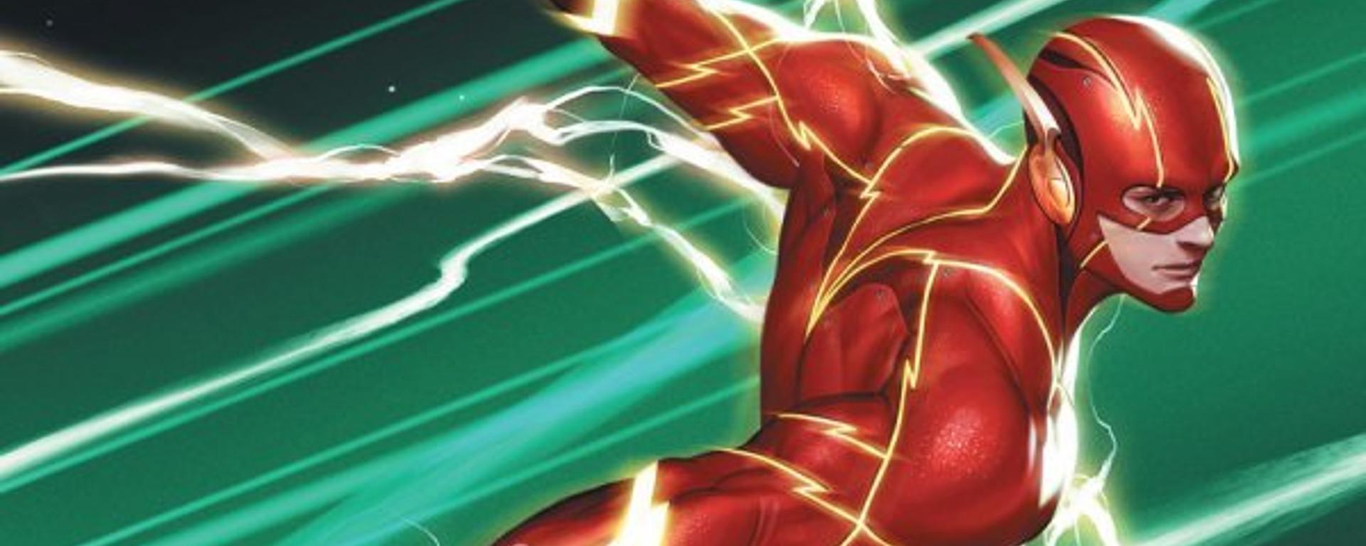The Flash #763 Header
