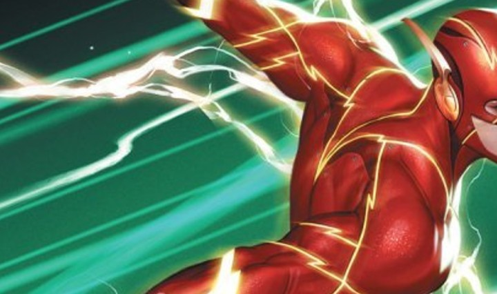 The Flash #763 Header