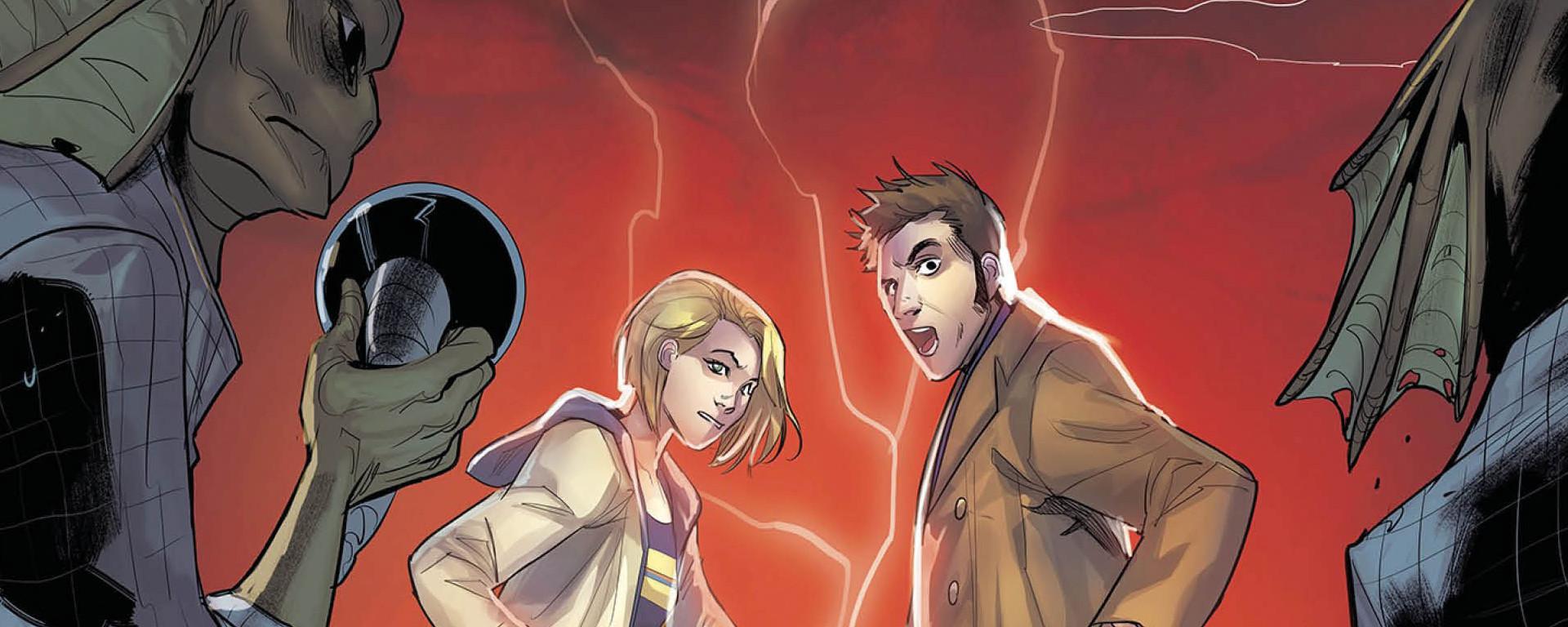 Doctor Who Comics 2020 #1 Header