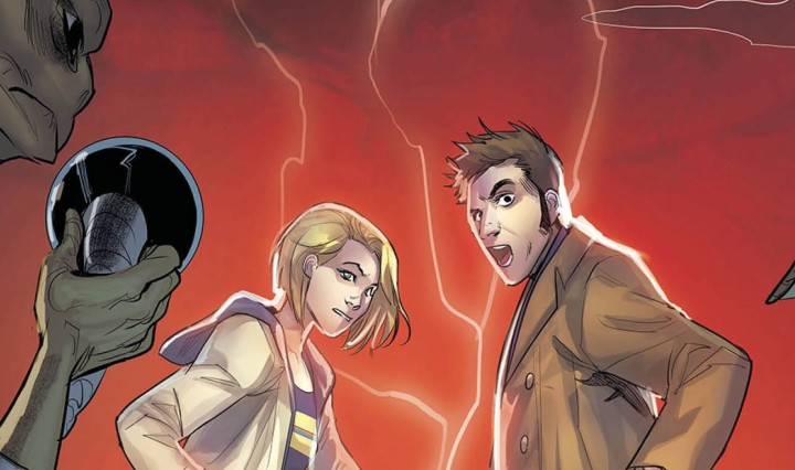 Doctor Who Comics 2020 #1 Header