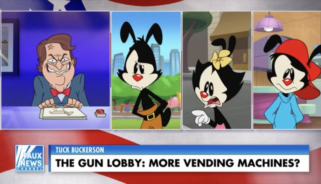 Hulu Animaniacs Fox News Parody