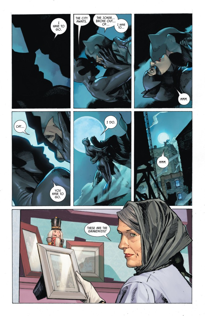 BatmanCatwoman #1 Page 1
