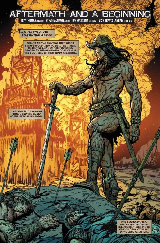 King-Size Conan #1 Page 1