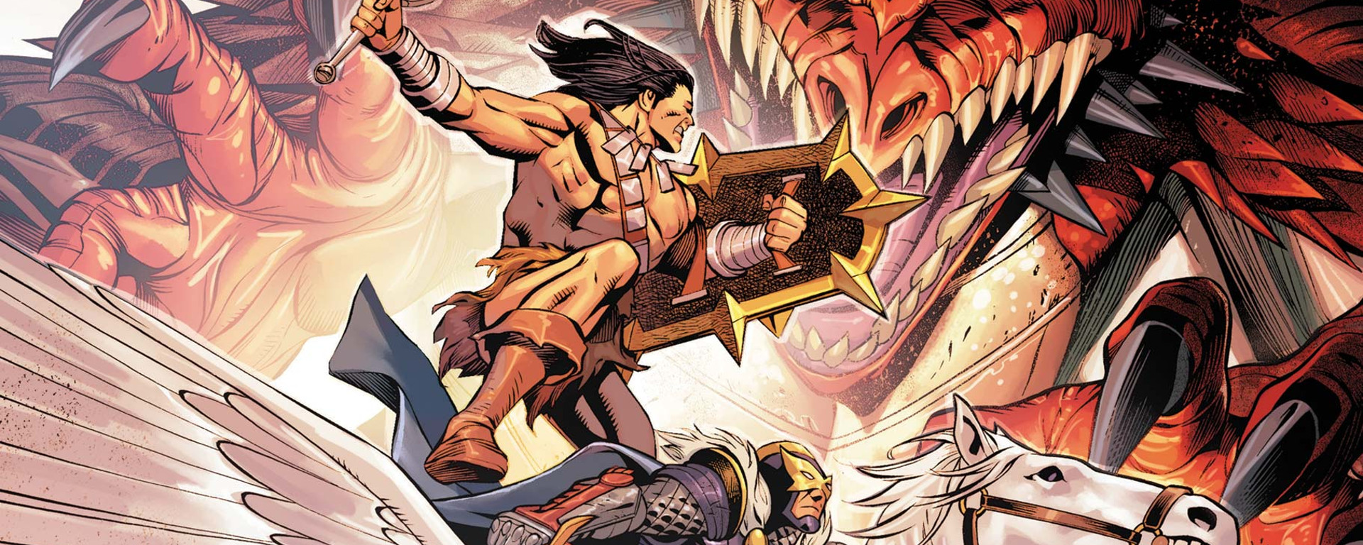 Savage Avengers #16 Header