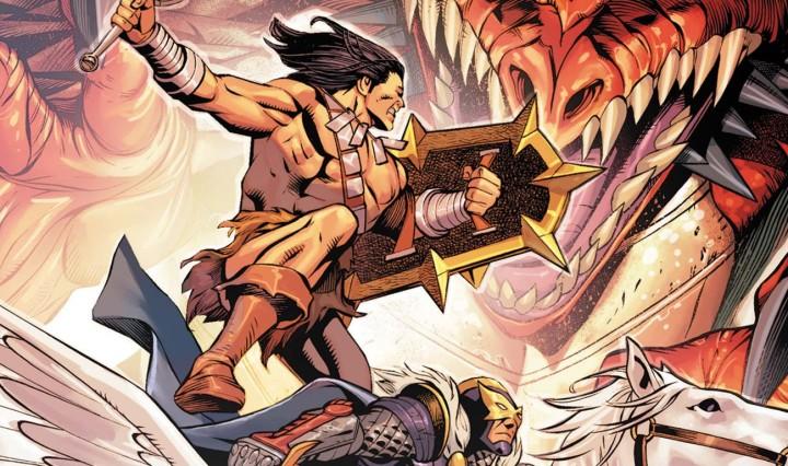 Savage Avengers #16 Header