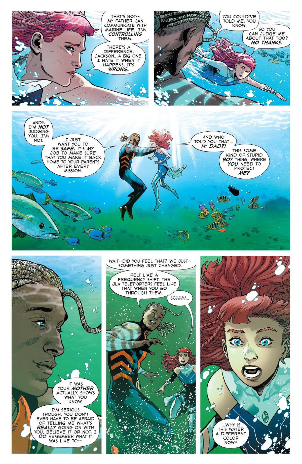 Future State Aquaman Page 1