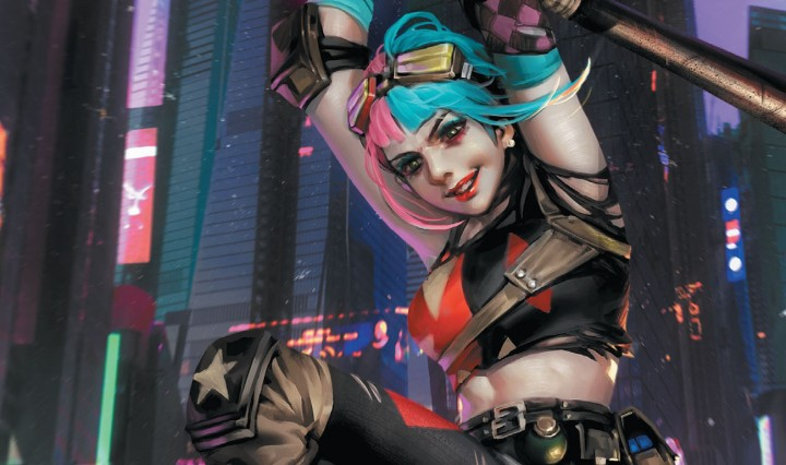 Future State Harley Quinn Header
