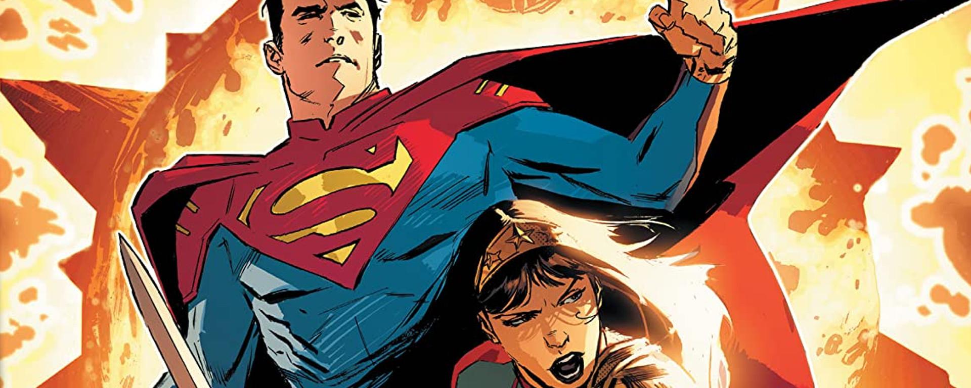 Future State Superman Wonder Woman #1 Header
