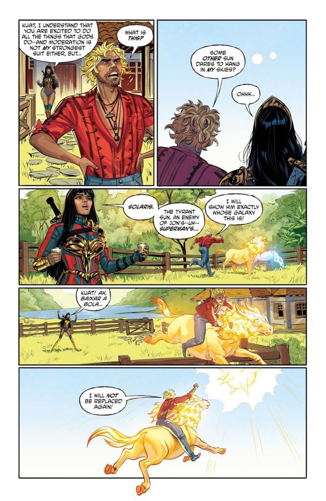 Future State Superman Wonder Woman #1 Page 1