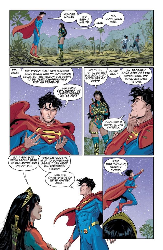 Future State Superman Wonder Woman #1 Page 2