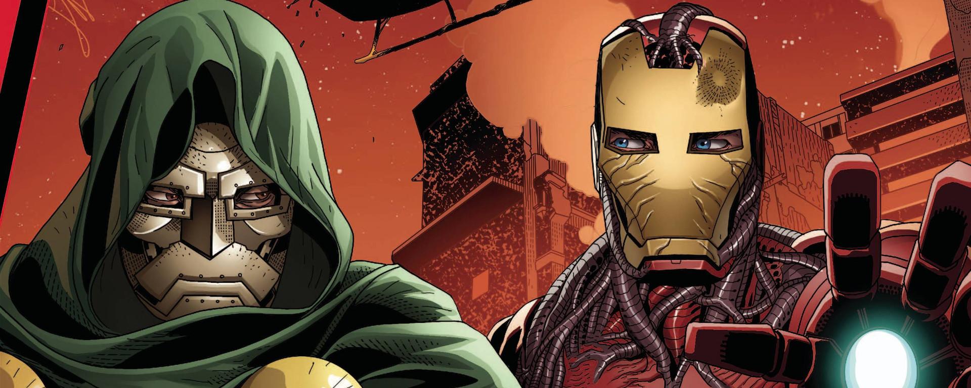 King In Black Iron Man Doom #1 Header