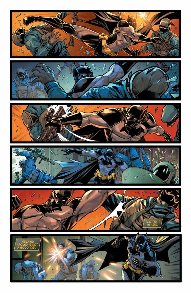 The Next Batman #2 Page 1