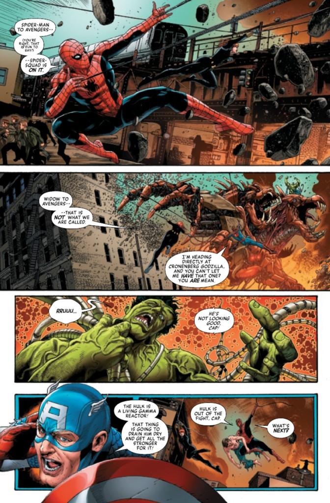 Avengers Mech Strike Page 1