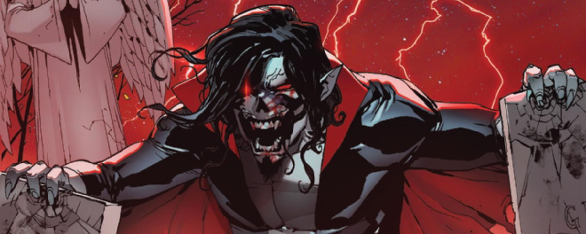 Morbius Bond of Blood #1 Header