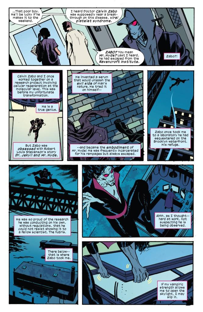 Morbius Bond of Blood #1 Page 1