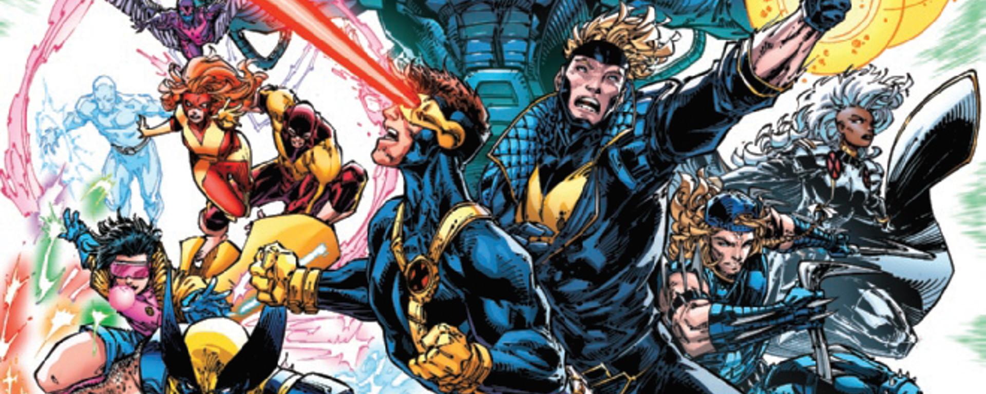 X-Men Legends #1 Header