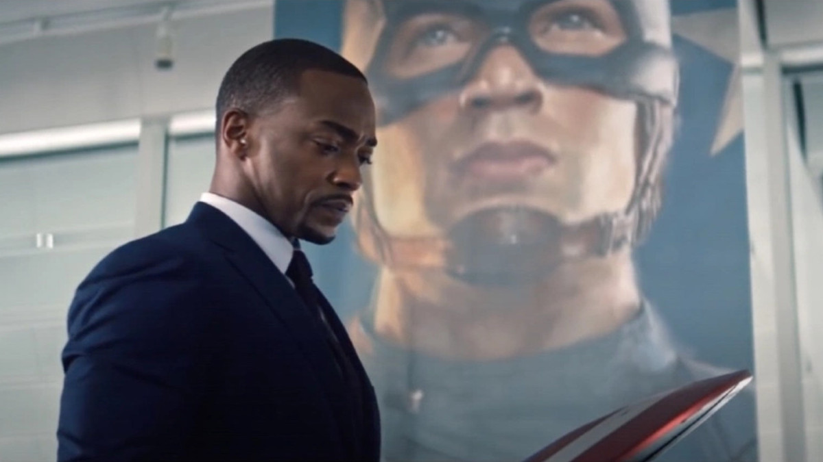 Anthony Mackie in The Falcon and Winter Soldier