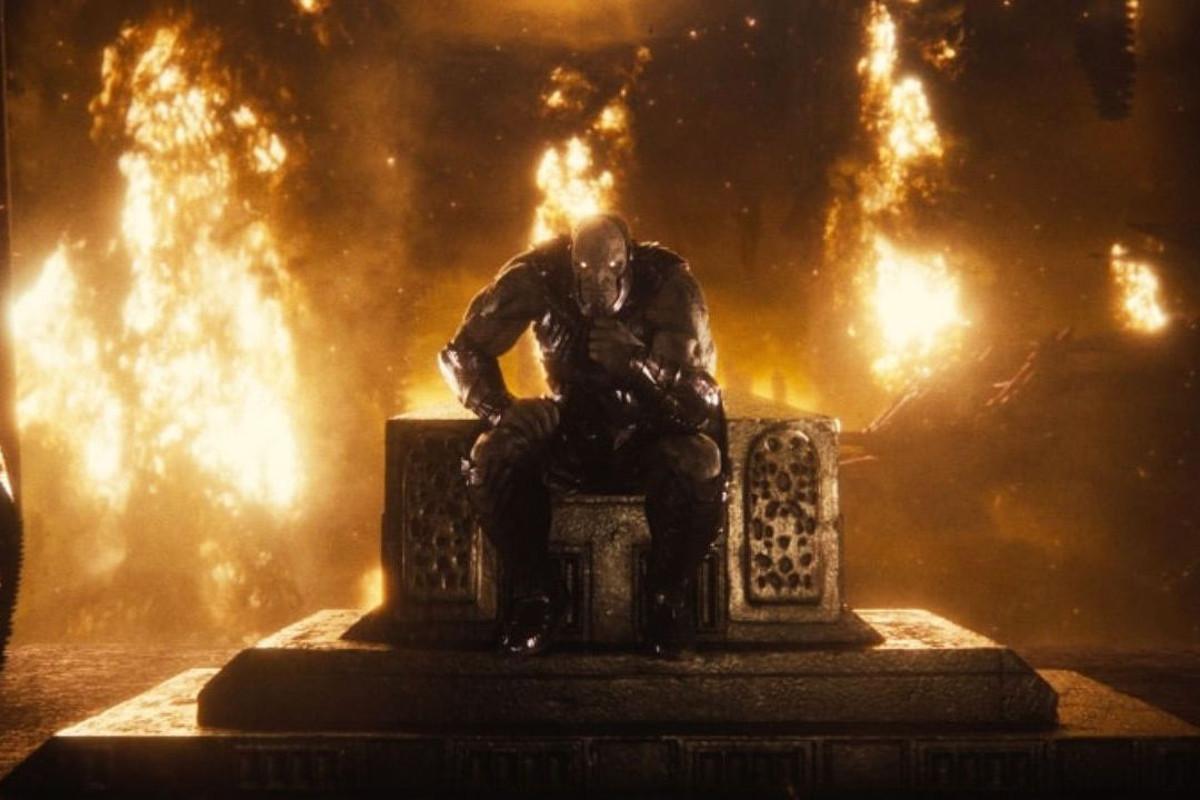 Darkseid on Throne in Snyder Cut