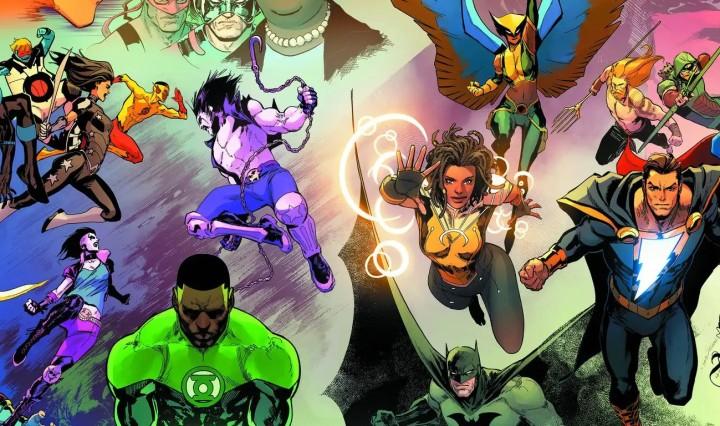 Justice League #59 Header