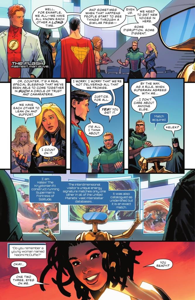Justice League #59 Page 1