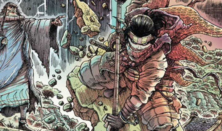 Orphan and the Five Beasts #1 Header