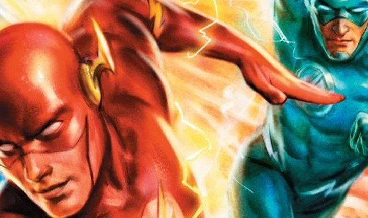 The Flash #768 Header