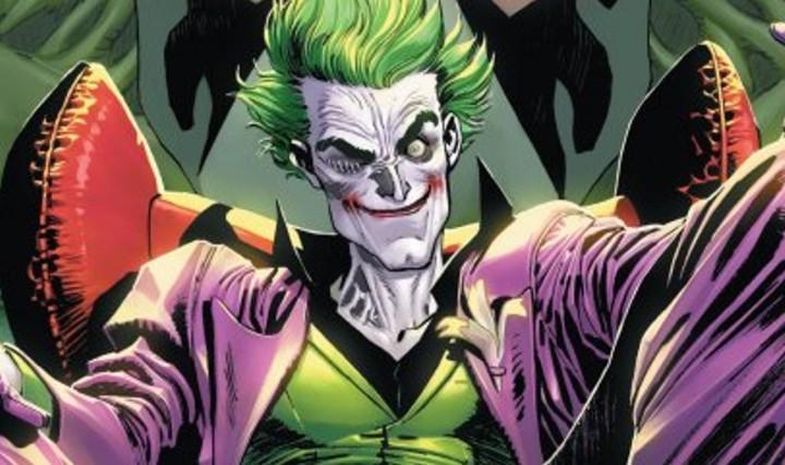 The Joker #1 Header