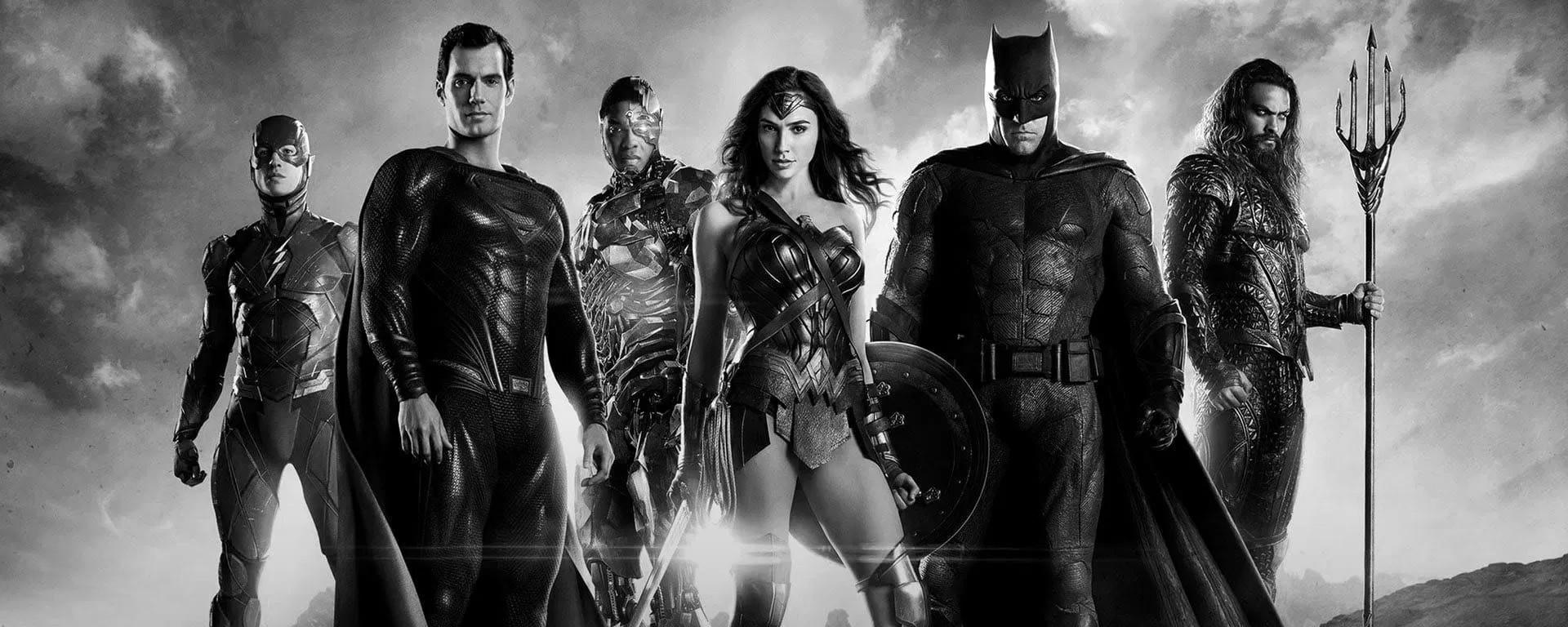 Zack Snyder's Justice League Header